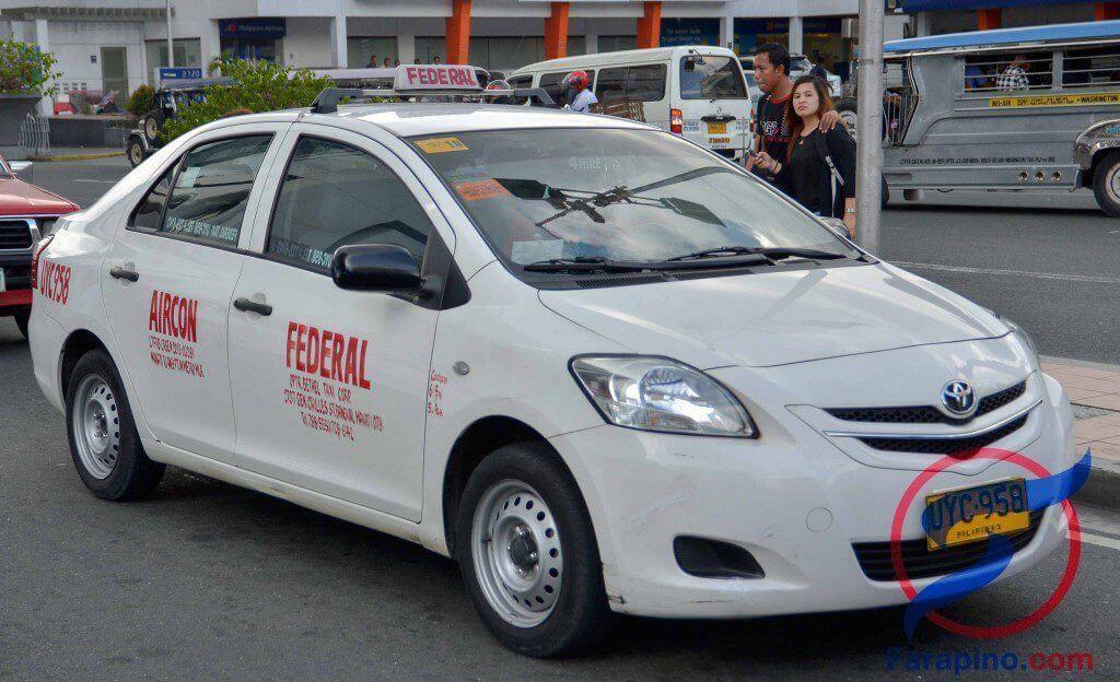 التاكسي في مانيلا