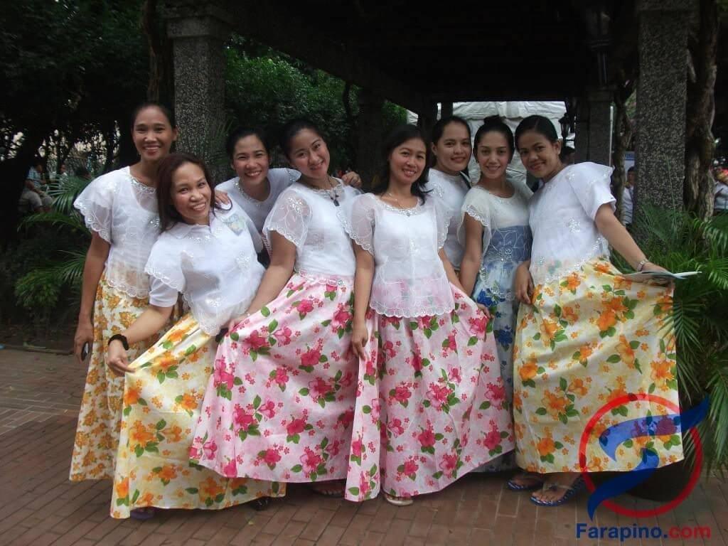 باروت زي نساء الفلبين