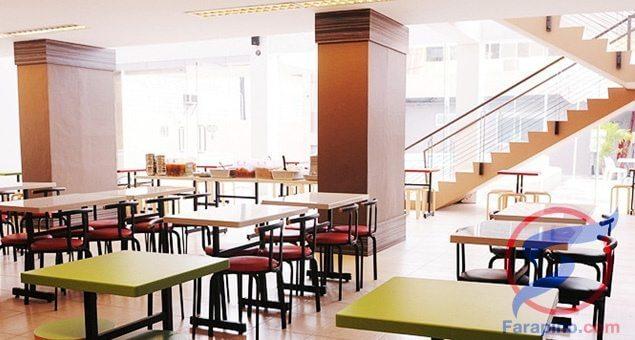 المطعم في معهد CIA