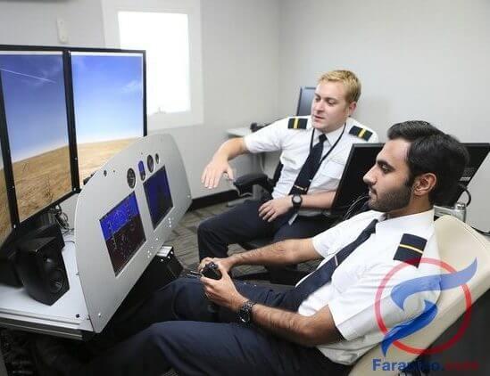 حول دراسة الطيران المدني