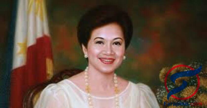 رئيسة الفلبين كورازون اكينو