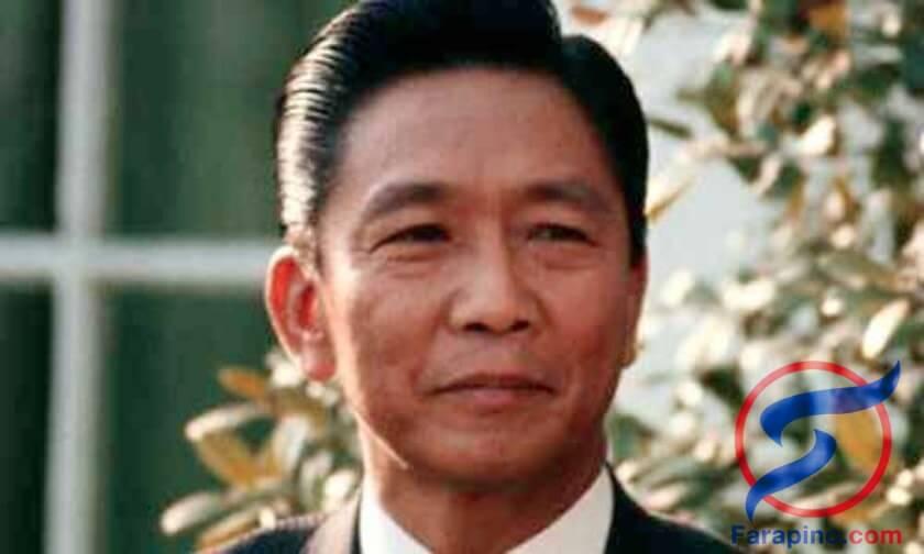 رئيس الفلبين فيرديناند ماركوس