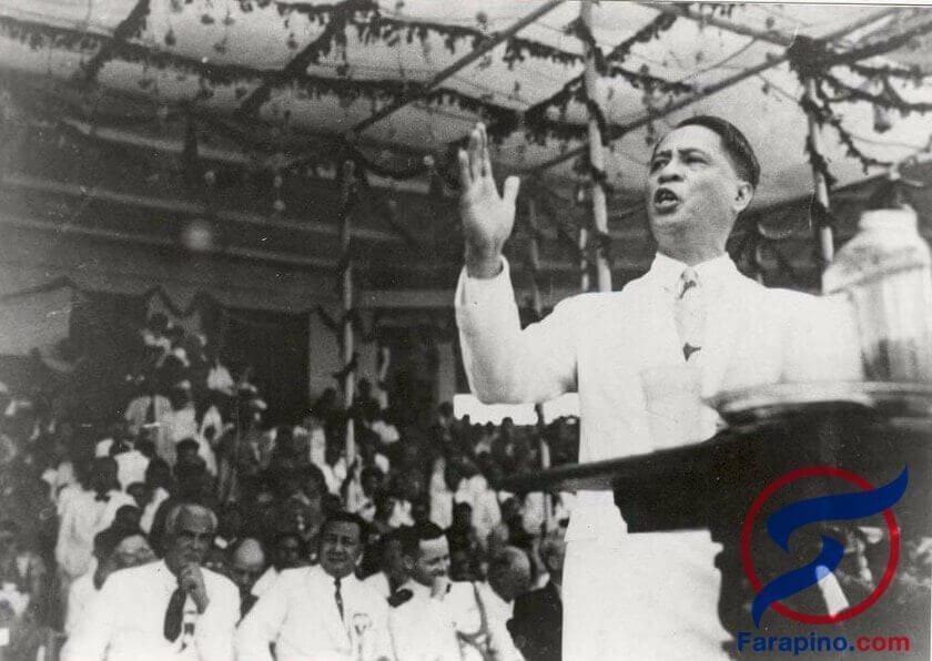 رئيس الفلبين مانويل روكساس