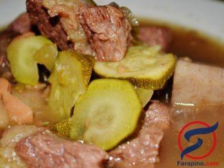 شوربة لحم البقر وصفة فلبينية