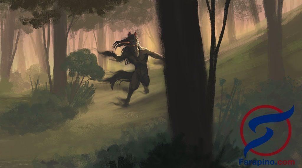 tikbalang وحش الغابة