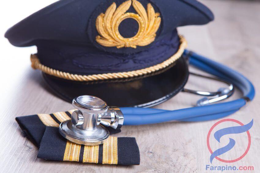 الشهادات الطبية للطيارين