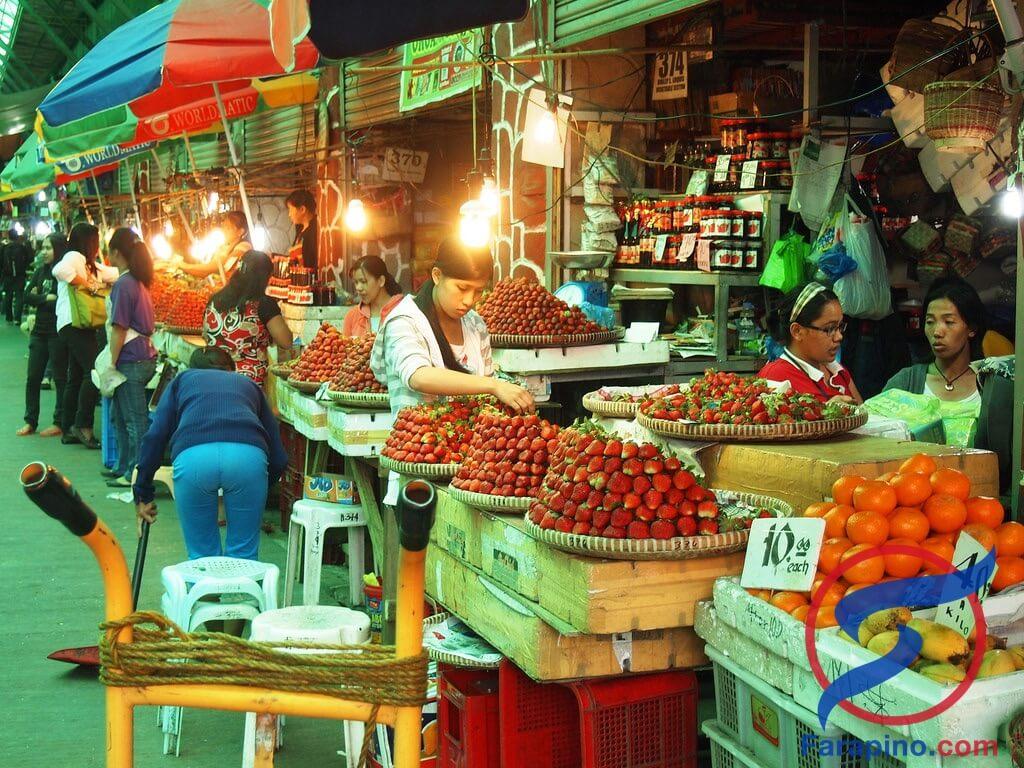 سوق مدينة باقيو الشعبي