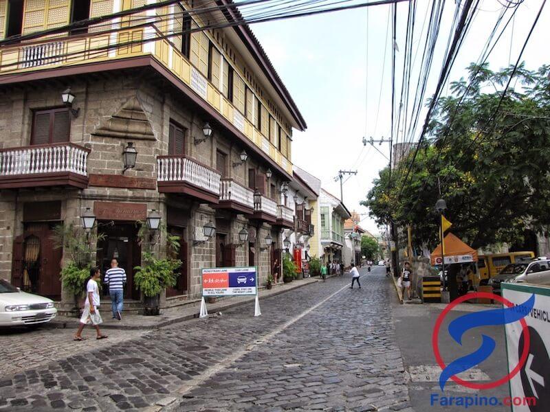 انتراموروس مانيلا المدينة الاسبانية
