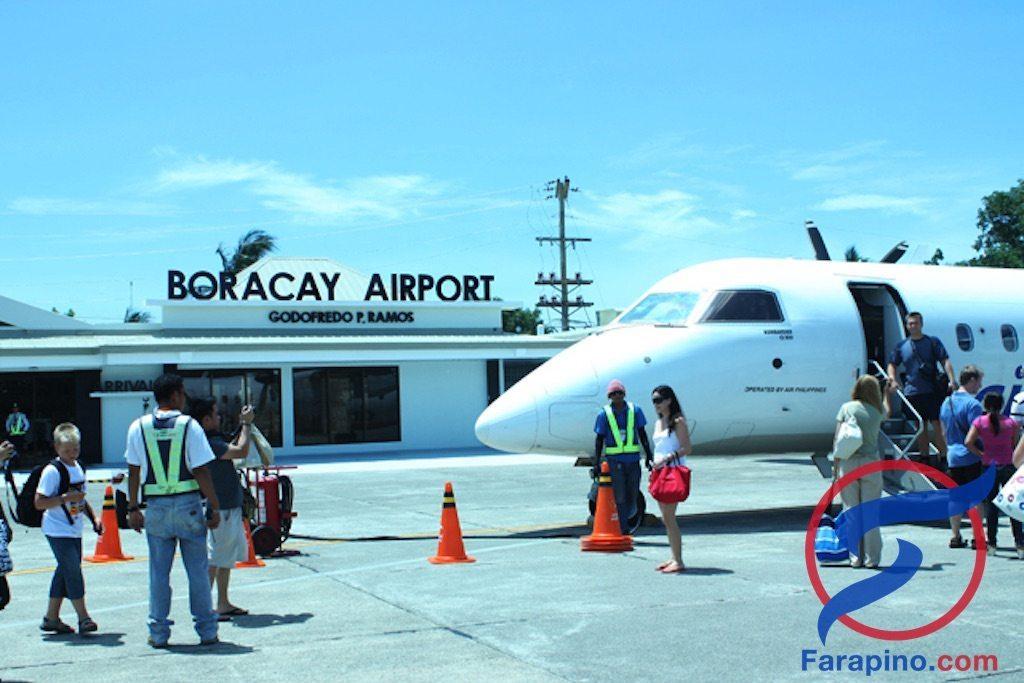 كيف تذهب لجزيرة بوراكاي بالطيران