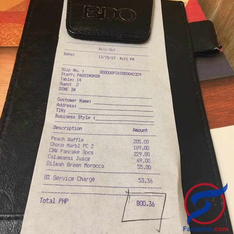 مطعم Pancake House حلويات وفطور اوروبي في الفلبين