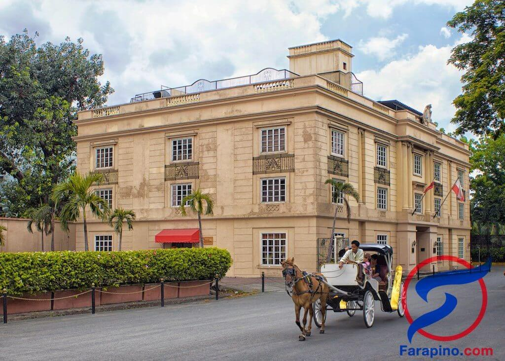عربة حصان مانيلا